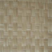 Natural Bamboo + style weaving mat