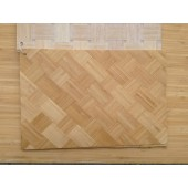 Natural Color Bamboo Woven Veneers