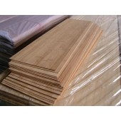 Carbonized Bamboo panel for Skateboard Deck