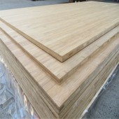 Bamboo top clamp plate for furniture board